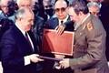 Фидель Кастро и Михаил Горбачев (1989)