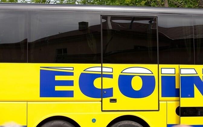 Автобус фирмы Ecolines.