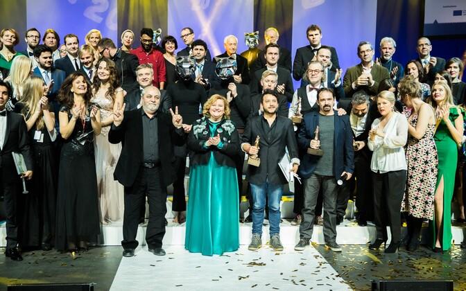 Заключительная церемония кинофестиваля PÖFF.