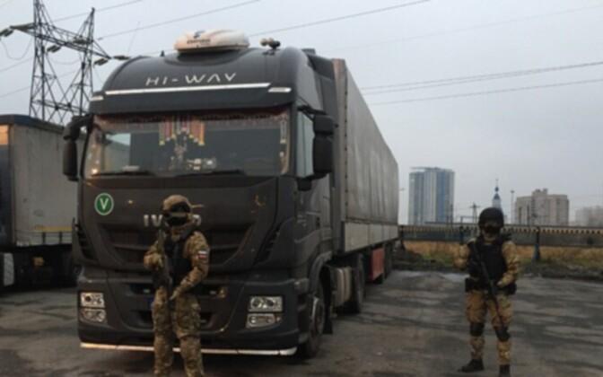 В литовском грузовике нашли 360 кг гашиша.