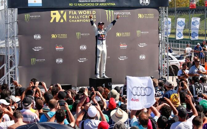 Rallikrossi MM-sarja hooaja viimane etapp Argentinas. Mattias Ekström