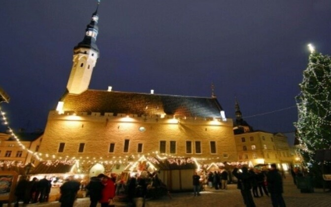 Tallinn is a popular Christmas and New Year's destination for travellers from Estonia's neighboring countries.