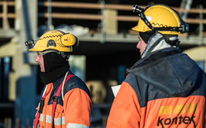 Ehituses kasutatakse palju võõrtööjõudu. Foto on illustratiivne.