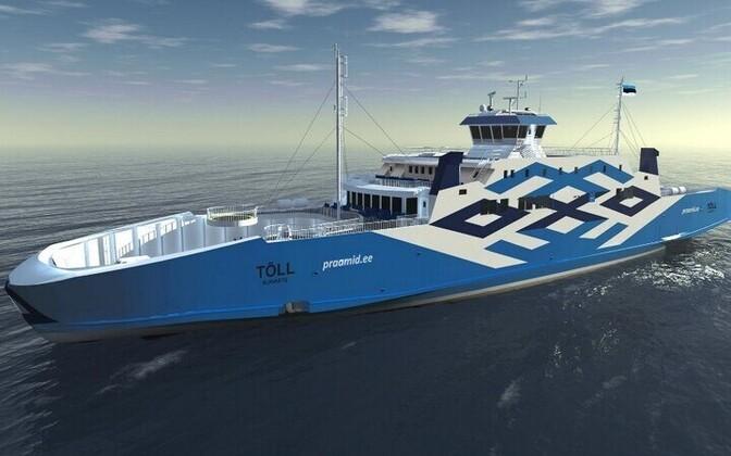 The ferry Tõll.