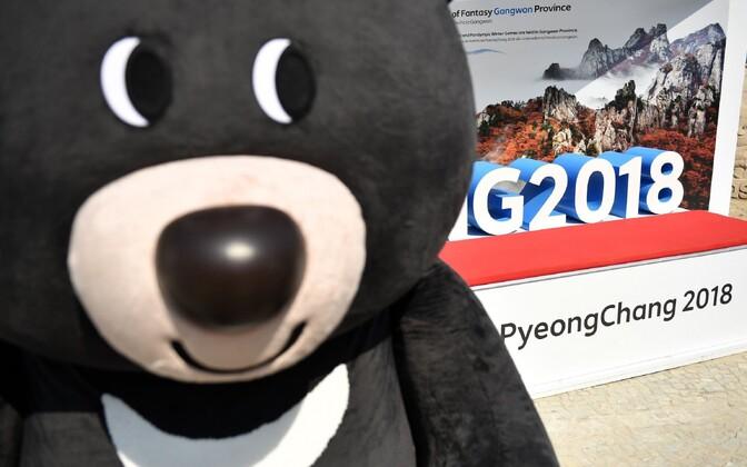 Lõuna-Korea 2018. aasta taliolümpiamängude maskott.