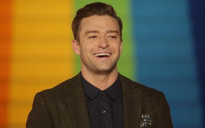 Aasta halvima loo esitaja Justin Timberlake