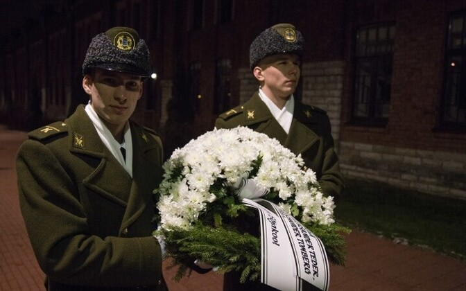 В Тонди прошло мемориальное мероприятие, посвященное памяти погибшим при подавлении восстания кадетам.