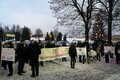 Narvas piketiti haigla asteosakonna sulgemise vastu.