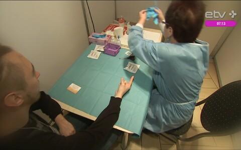 Проведение экспресс-теста на ВИЧ