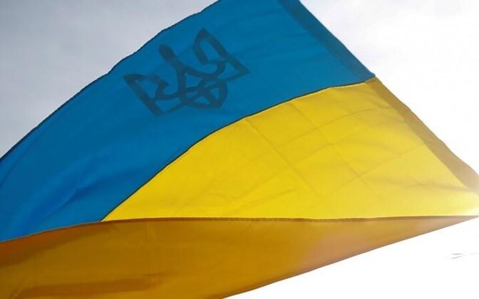 Флаг Украины.