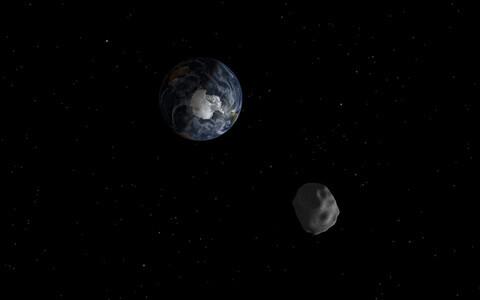 Asteroid 2015 TC25 kunstniku nägemuses.