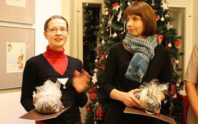 Triinu Laan ja Anne Pikkov