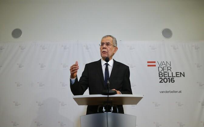 Austria uus president Alexander Van der Bellen.