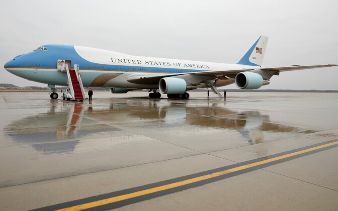 The plane currently used as Air Force One. Photo is illustrative.