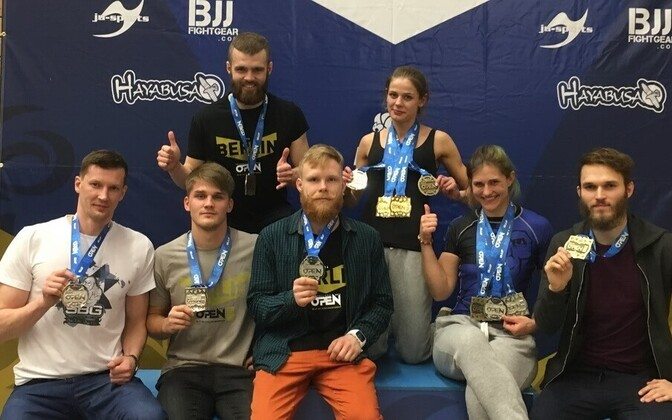 Eesti esindus jiu-jitsu võistlusel Berlin Open