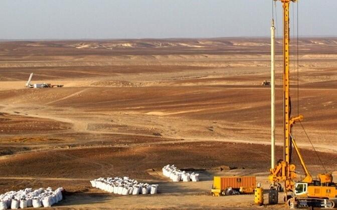 Oil shale mining in Jordan