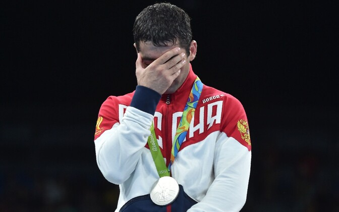 Miša Alojan Rio olümpial autasustamisel.