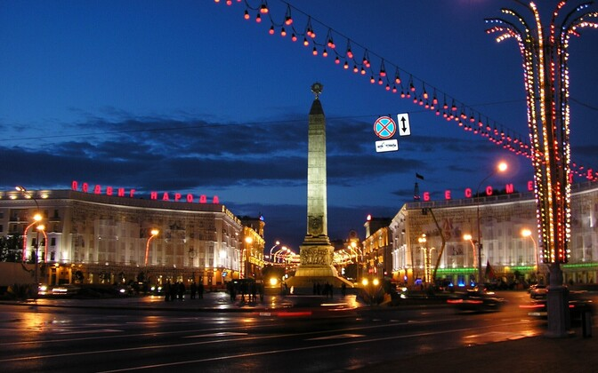 Victory Square in Minsk, the capital of Belarus. Photo is illustrative.
