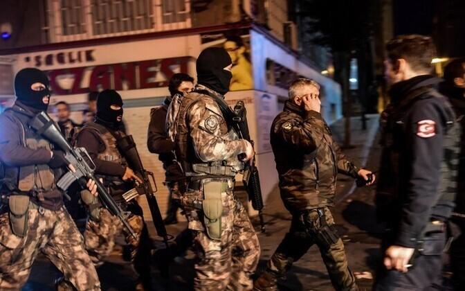 Türgi politsei kiirreageerijad.