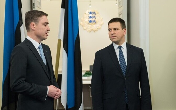 Change doesn't come easy: after 17 years in power, the Reform Party under former prime minister Rõivas (left) lost control and slipped into opposition, while Prime Minister Jüri Ratas has Edgar Savisaar's cronyism to deal with