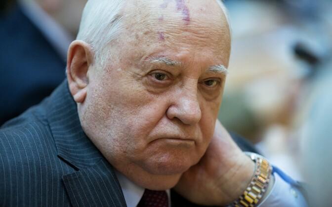 Endine Nõukogude Liidu liider Mihhail Gorbatšov.