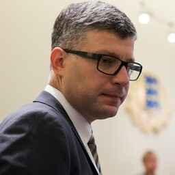 Keskerakonna peasekretär Mihhail Korb.