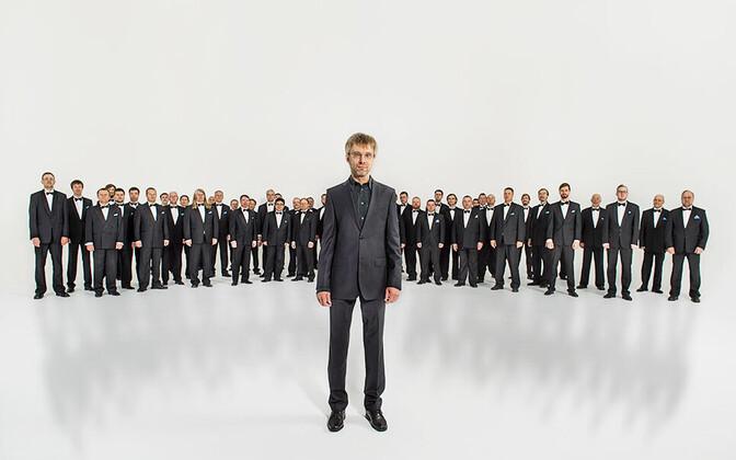 Eesti Rahvusmeeskoor ja Mikk Üleoja