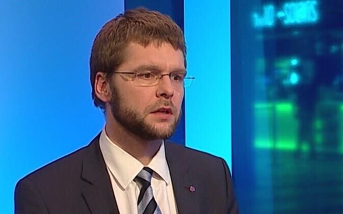 Minister of Health and Labour Jevgeni Ossinovski (SDE).