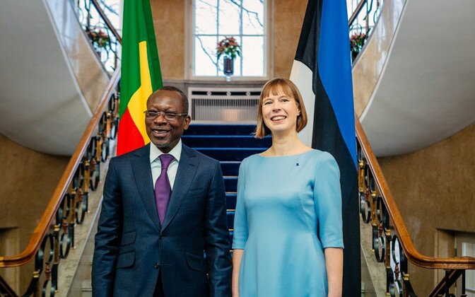 Presidents Talon and Kaljulaid.