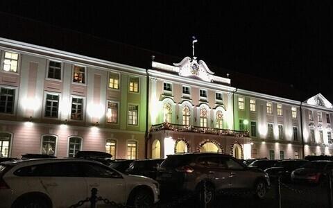 Toompea Castle, seat of the Riigikogu.