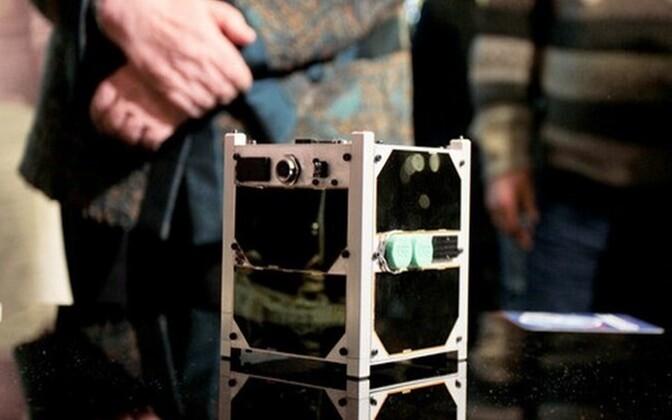 ESTCube-1, Estonia's first satellite.