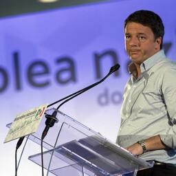 Itaalia endine peaminister Matteo Renzi 18. detsembril Demokraatliku Partei kongressil.