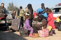 Evakueerimine Aleppo idaosast.