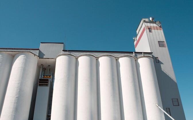 Silos of AS Tartu Mill.