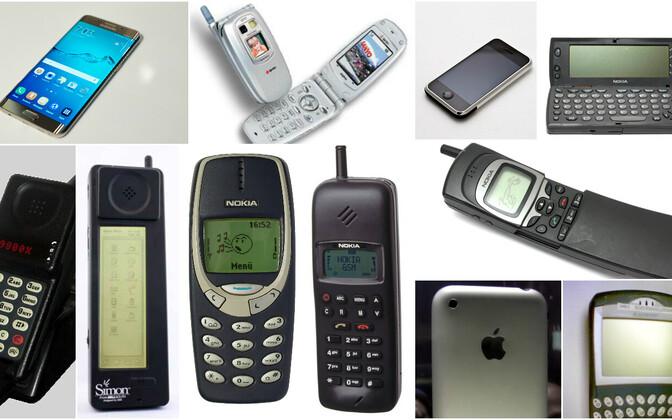 Millisest ajastust on need mobiiltelefonid?