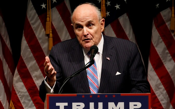 Endine New Yorgi linnapea Rudolph Giuliani.