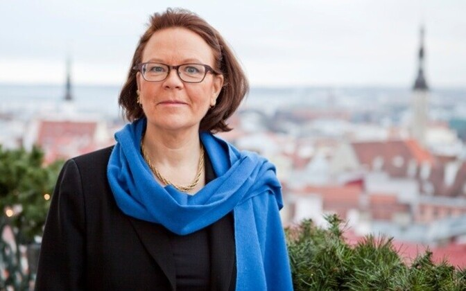 Finnish ambassador to Estonia, Kirsti Narinen.