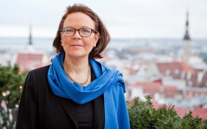 Finnish ambassador to Estonia, Kirsti Narinen.