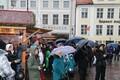 Jõulurahu väljakuulutamine Tallinnas Raekoja platsil.