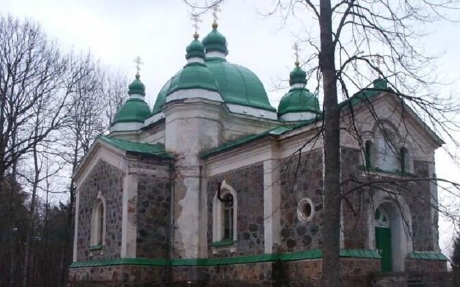 Pootsi-Kõpu Õigeusu kirik.