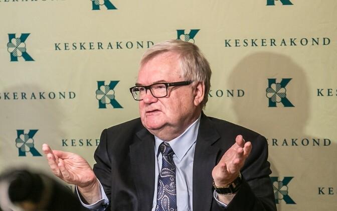 Former longtime Center Party chairman Edgar Savisaar.