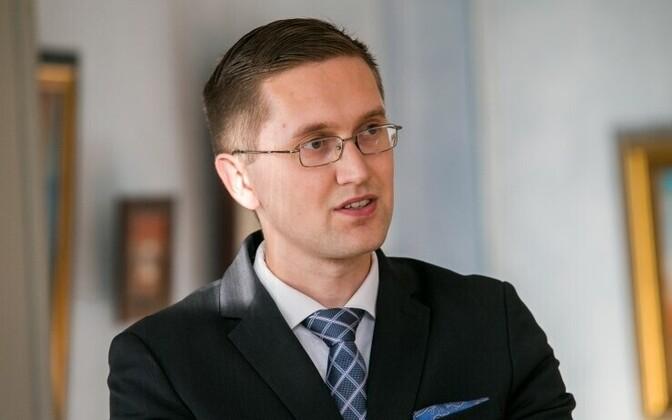 Депутат Рийгикогу от EKRE Яак Мадисон.
