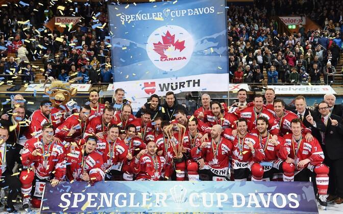 Spengleri karikaturniiri võitis Kanada meeskond