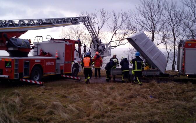 На месте происшествия была развернута спасательная операция.