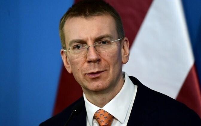 Minister of Foreign Affairs Edgars Rinkēvičs of Latvia.