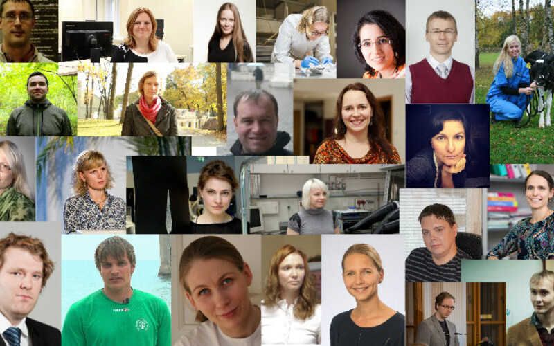 Eesti Noorte Teaduste Akadeemia asutajaliikmed.