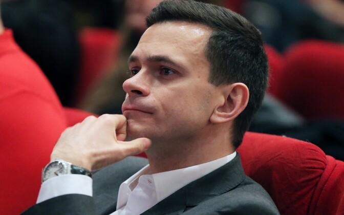 Vene opositsioonipoliitik Ilja Jašin.