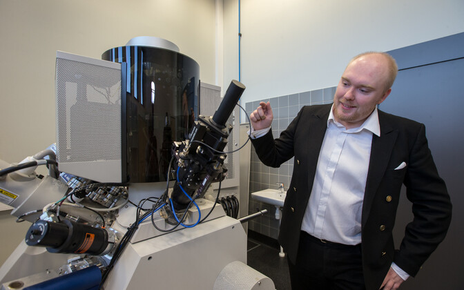 Maido Merisalu sõnul on elektronmikroskoop kahtlemata üks materjaliteadlaste lemmiktööriist, et visualiseerida nanomaailma.