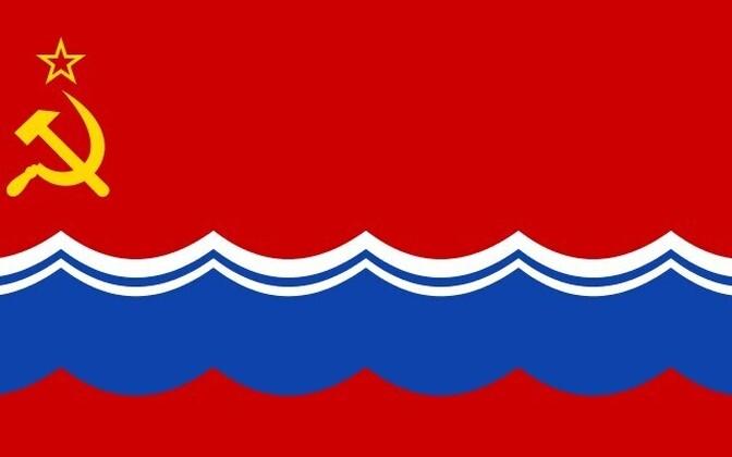 Eesti NSV lipp.
