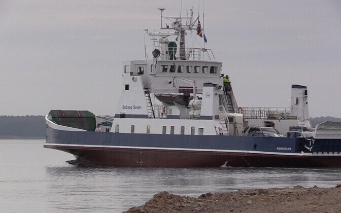 The ferry Subsea Seven of operator Kihnu Veeteed.